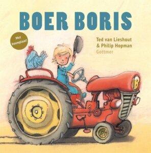 Boer Boris boek 4 jaar