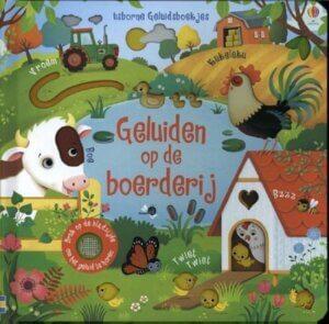 Geluiden op de boerderij babyboekje