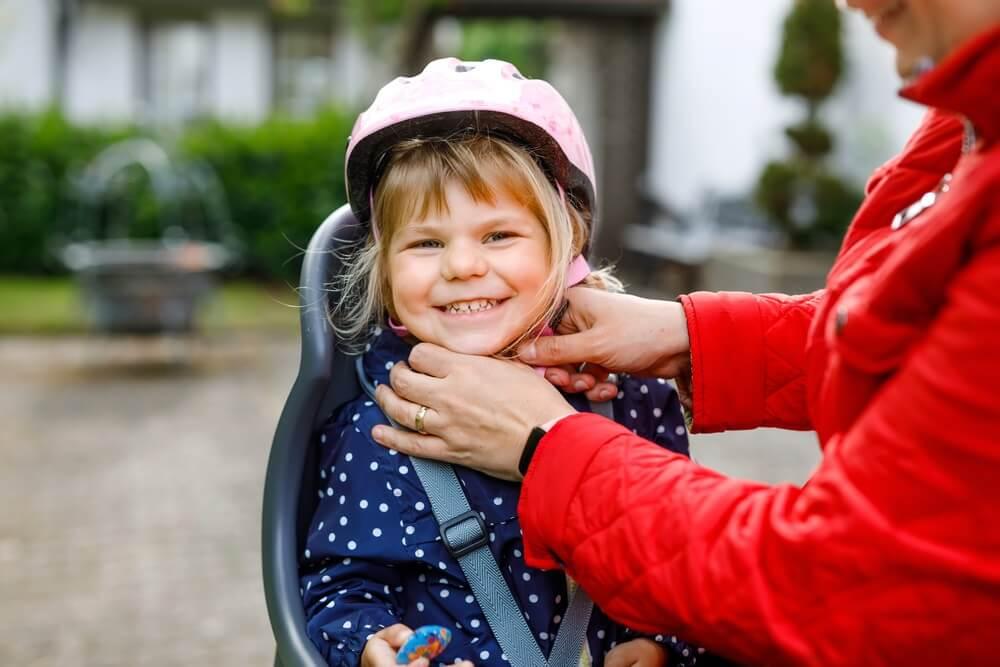 Hoe weet ik of een fietsstoeltje veilig is