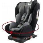 7. Ding Autostoel Twist 360 Grijs
