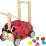 8. I'm Toy - Houten Loopwagen met blokken