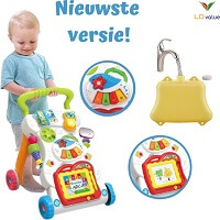 LDvalue Loopwagen- Loopwagen Baby