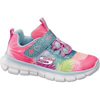 Skechers Roze lightweight sneaker glitters