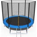 4. Viking Sports Trampoline - blauw - 252 cm